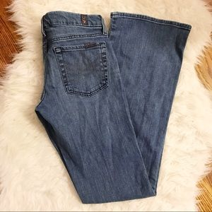 7 for All Mankind | A Pocket Flare Jeans Size 27